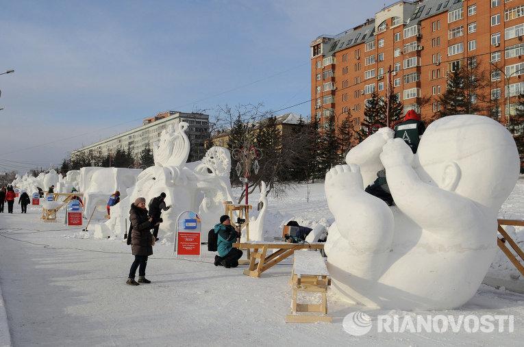 Фестивали ледяных скульптур: сразу несколько регионов приглашают жителей побывать в зимней сказке