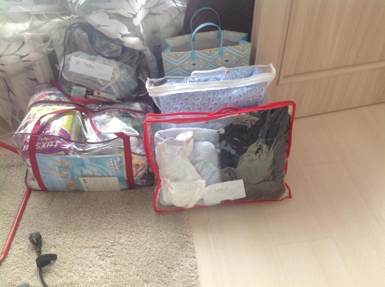 знаете как как собрать вещи в роддом по пакетам ремонт