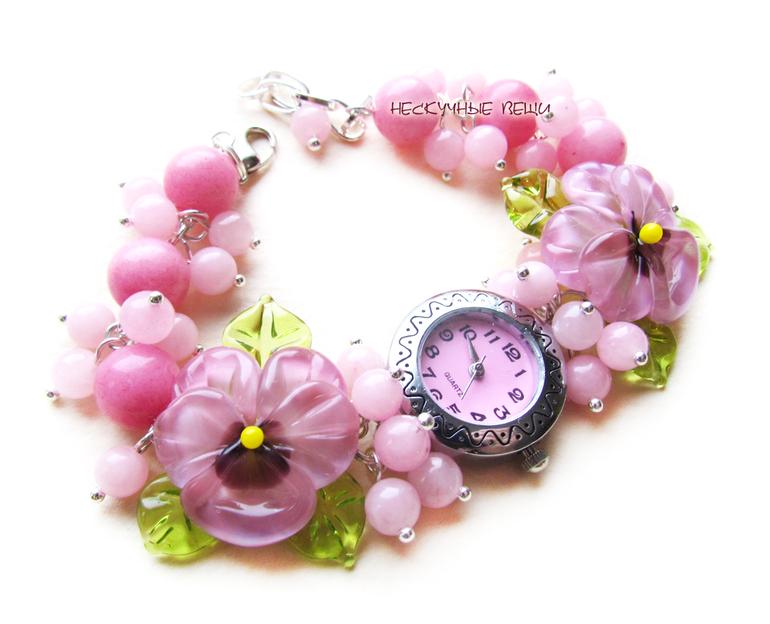 Розовые часы швейцарские за 1000р, Санкт-Петербург
