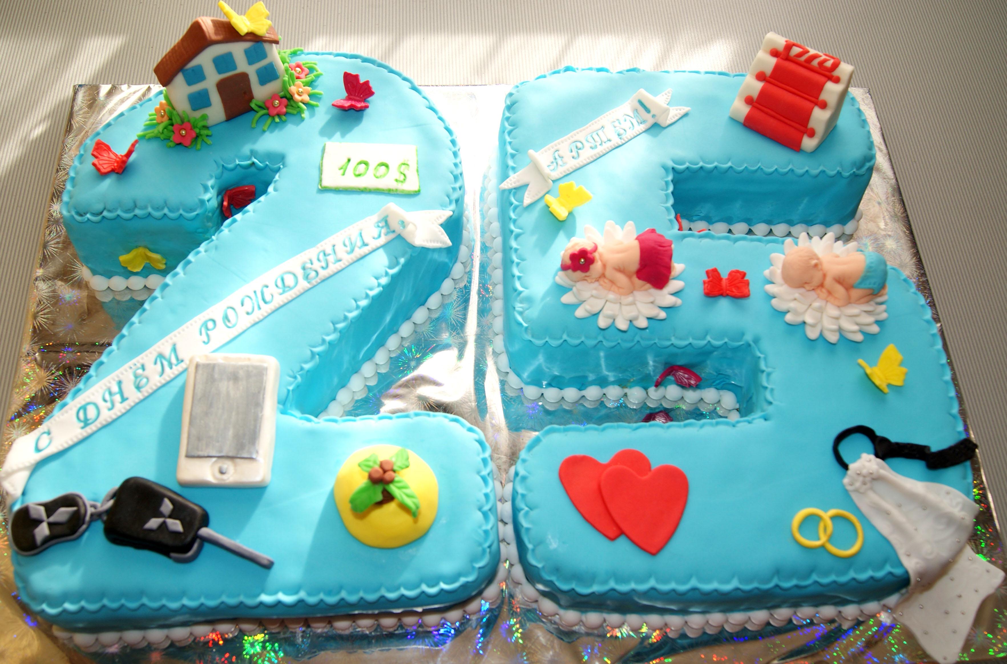 Торт парню на 25 лет своими руками