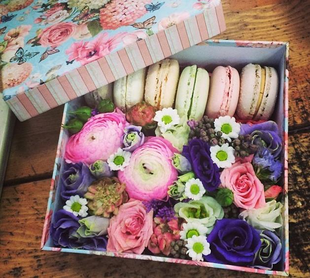 Сделать своими руками коробочку с цветами