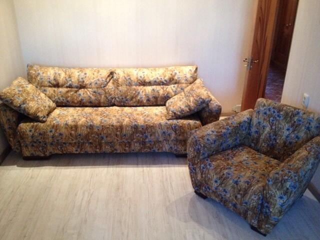 продаю диван и кресло отличном состоянии,срочно