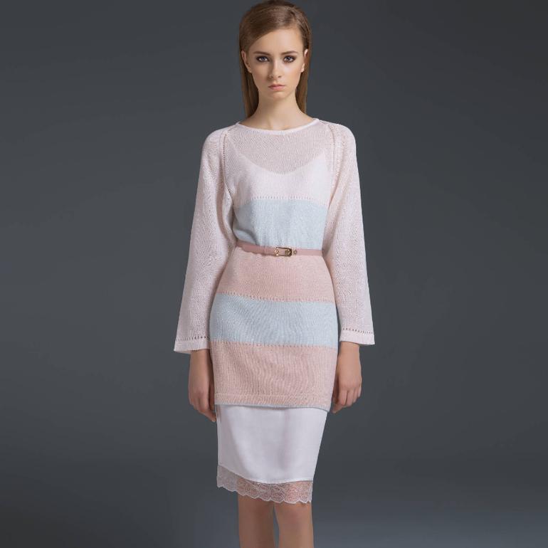 916e65f17e8 Белое платье 42 размера (без верхнего платья) - 1512 р.