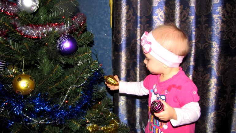 Так мы украшали елку