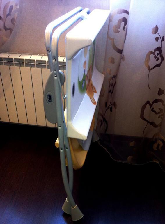 Пеленальный столик Cam Nuvola - отзыв :)