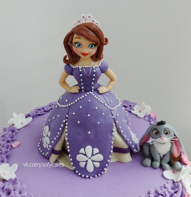 Как сделать принцессу из мастики