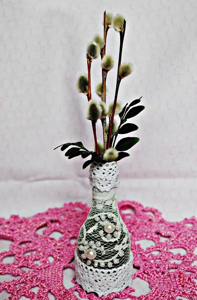Как сделать вазу своими руками легко 26