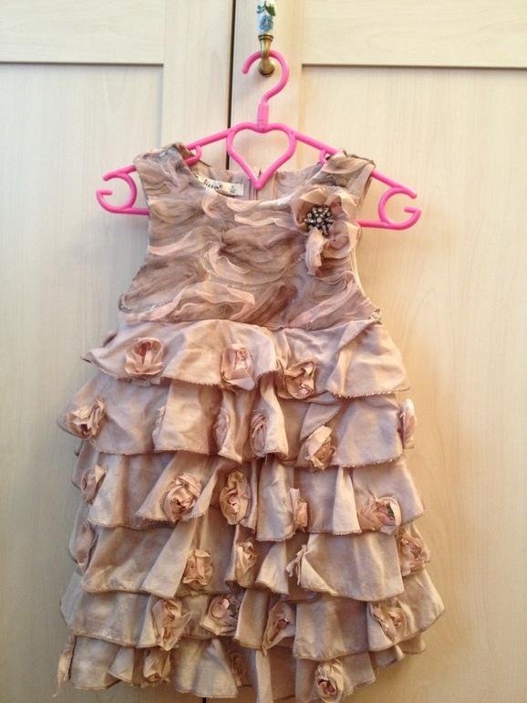 платье Bulicca на 92 см. 800р.
