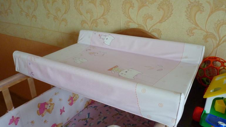 Пеленальная доска на кроватку своими руками мастер класс 34