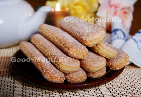 пирожное из печенья савоярди рецепт с фото