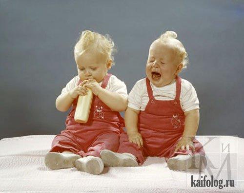 Поздравления приколы для братьев близнецов