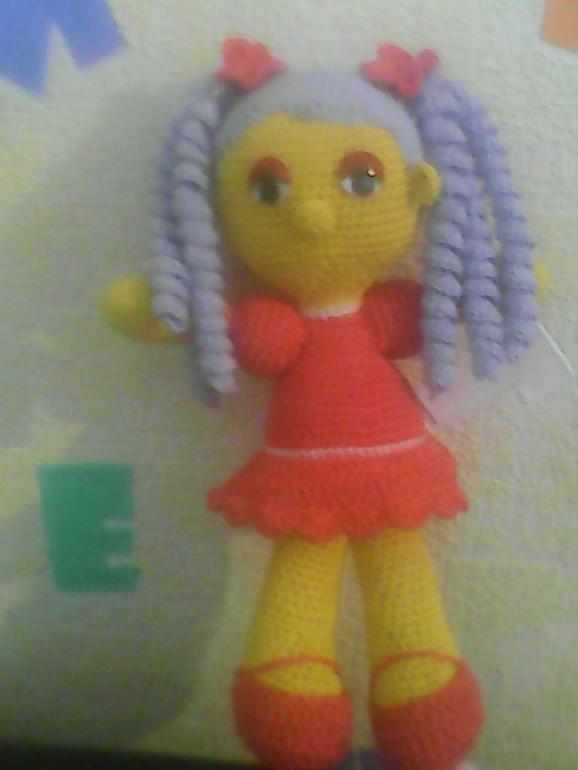 Хвастаюсь-это грызун-кукла для доченьки