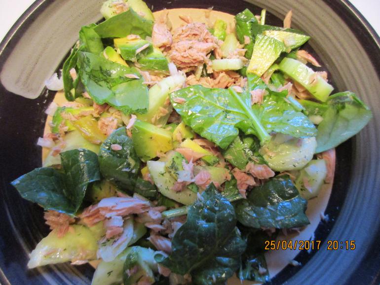 Рецепты салатов с тунцом консервированным с