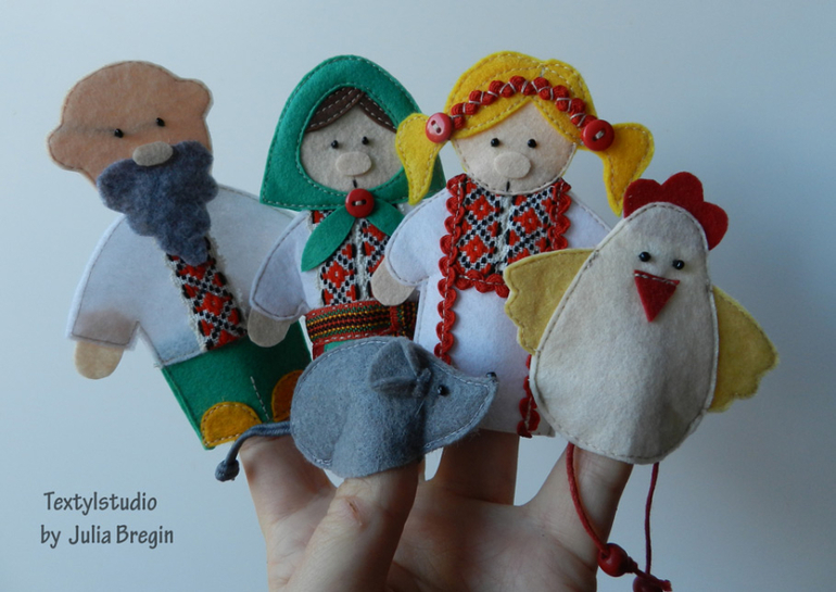 Куклы курочка ряба своими руками