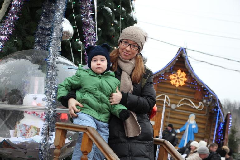 В усадьбе Дедушки Мороза