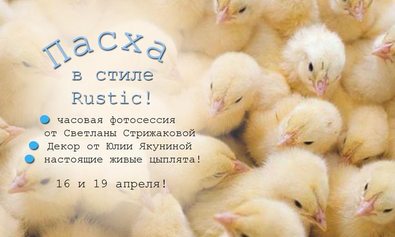 одно местечко на пасхальный проект с цыплятами