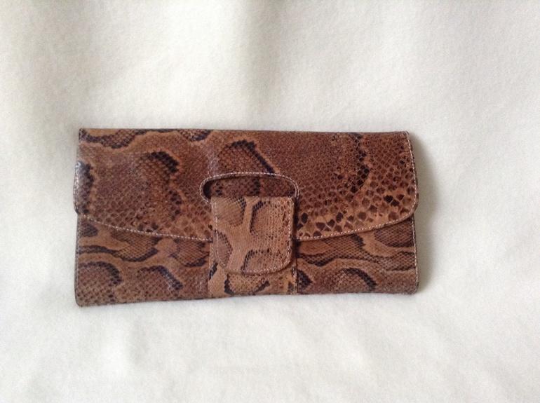 ff40fe56e555 Клатч из натуральной кожи питона - запись пользователя Exotic ...