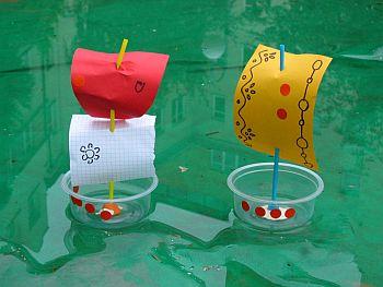 Кораблики на детских площадках сделать своими руками