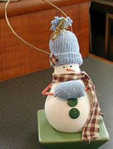 Новогодняя игрушка из лампочки своими руками на конкурс