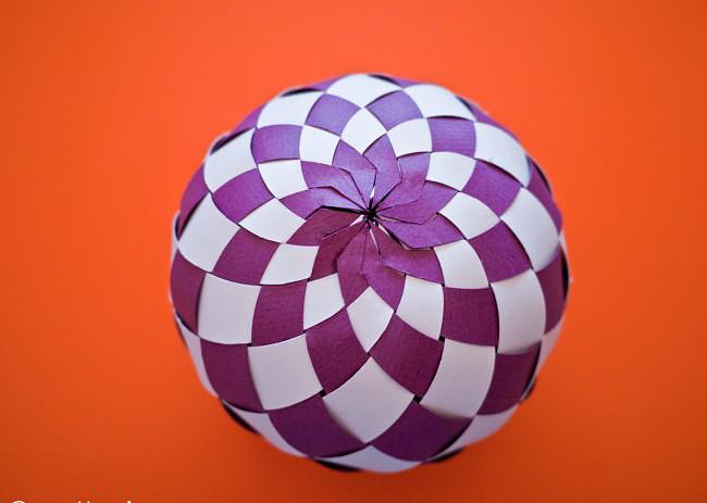 Елочный шарик своими руками фото