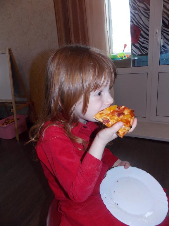 Ура!!  пицца!