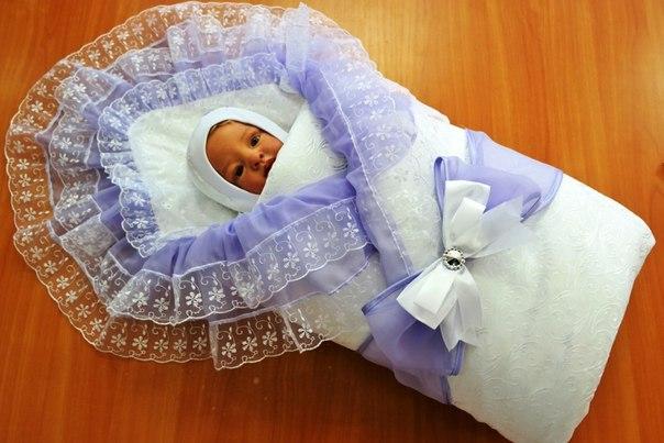 Набор для новорожденного в роддом на выписку своими руками 55