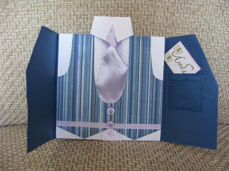 Открытка рубашка мужчине своими руками 138