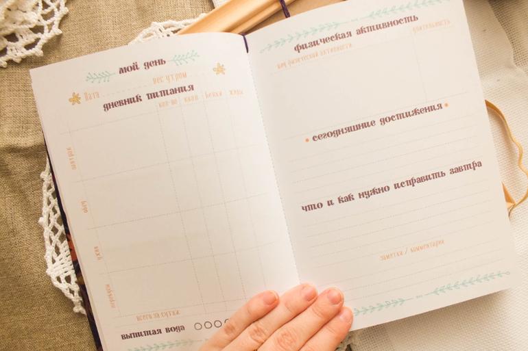Как сделать дневник похудения своими руками