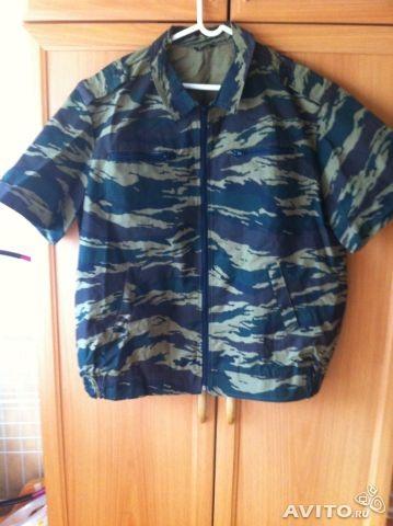 Камуфляжные  рубашки  (для  туризма,охоты,рыбалки  и  дачи)