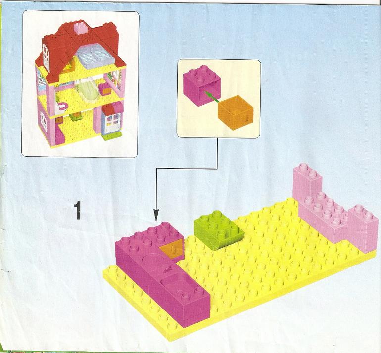 дом для семьи лего дупло инструкция