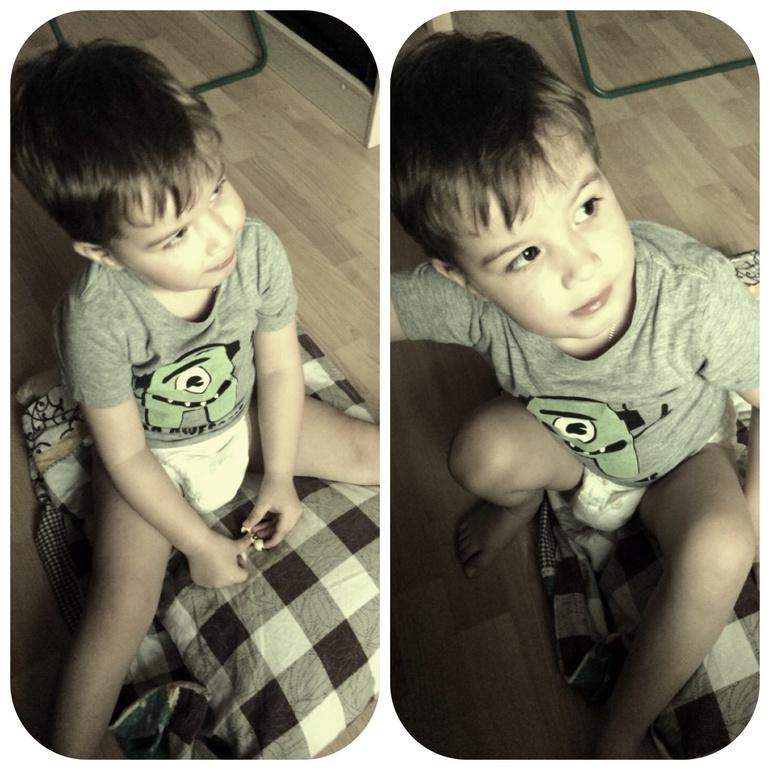 Мой сладкий мальчик- зайчик