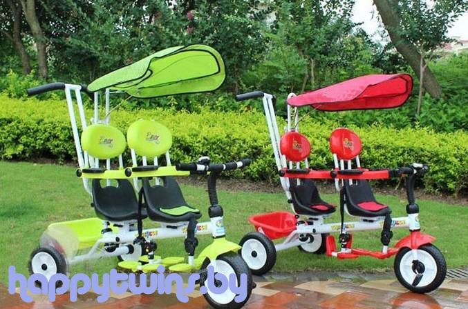 Трехколесный велосипед для двойни. - запись пользователя Алия ZD93