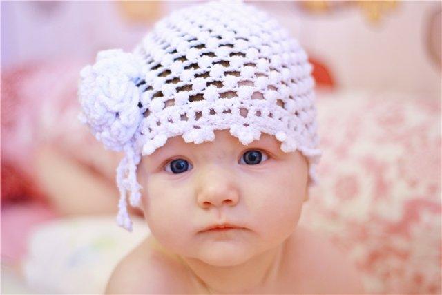 Вязание летней шапочки для грудничков