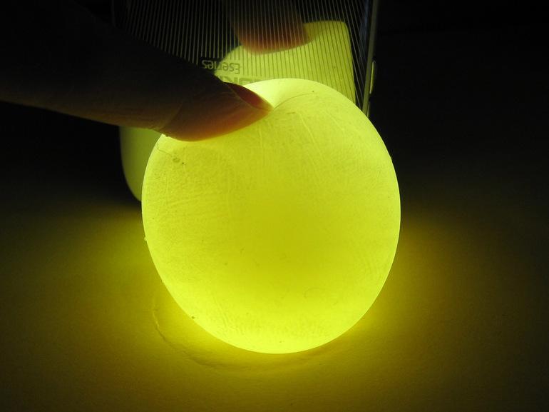 Как сделать светящейся яйцо 10