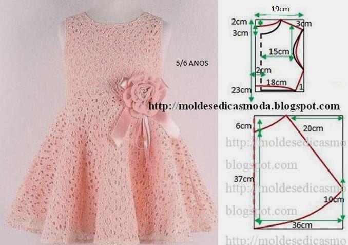 Пошив детского нарядного платья своими руками