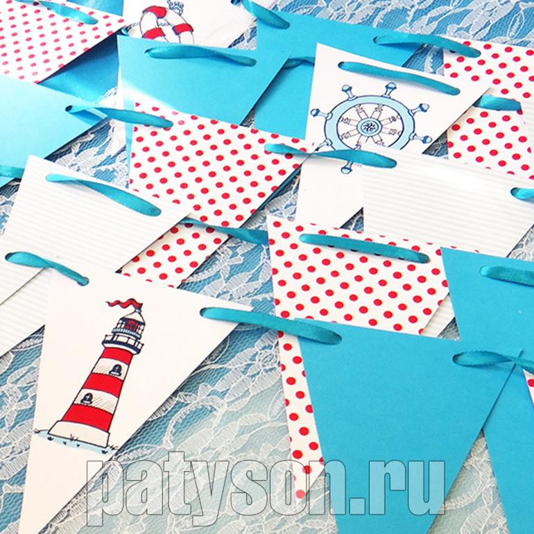 Оформление детского дня рождения в морском стиле своими руками 23