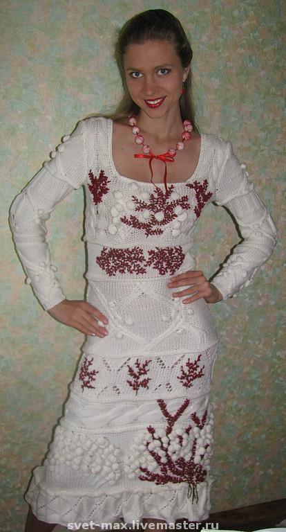 Платье от кензо схема