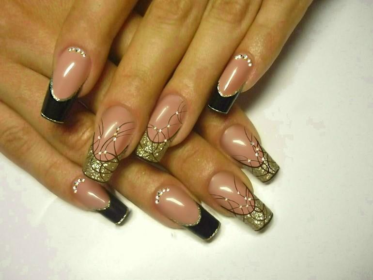 Дизайн ногтей на нарощенных
