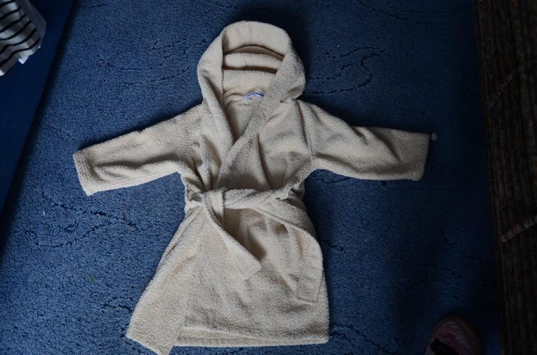 махровый халат на 1-2 годика. м. курская