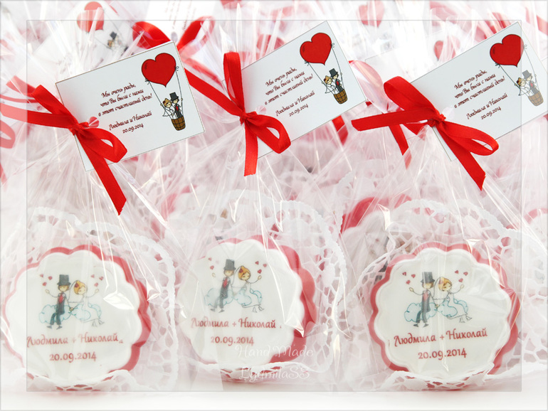 Ответные подарки гостям на свадьбе 16