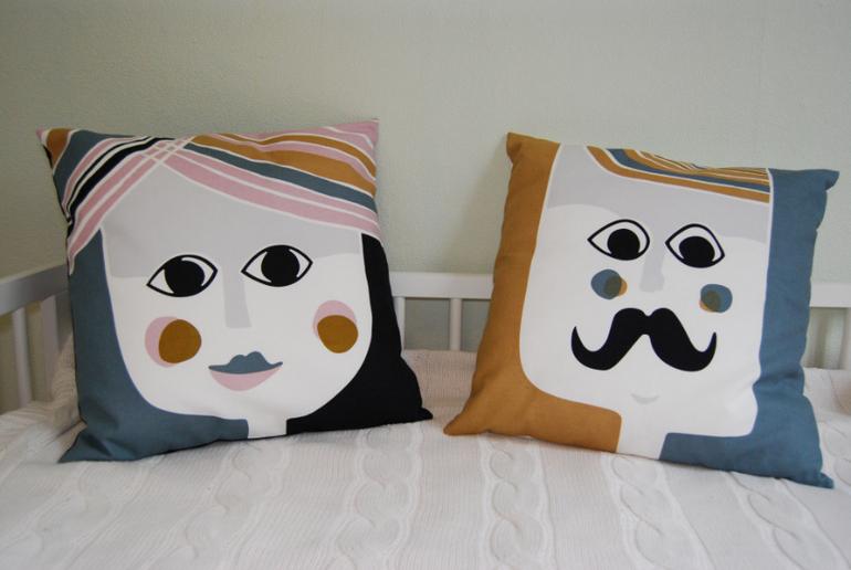 Подушки  для  современного  интерьера