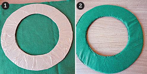Как сделать кольцо из бумаги и картона