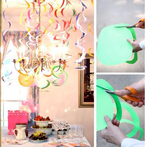 Как украсить квартиру своими руками к дню рождения