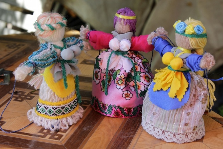 Кукла счастье мастер класс в русском стиле