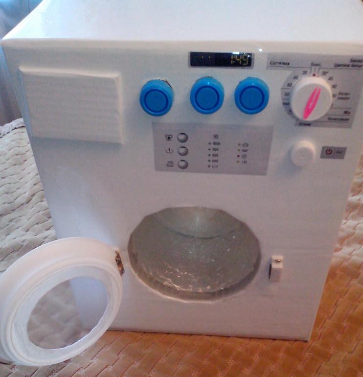 Самодельная стиральная машина