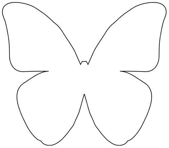 Шаблоны бабочки из бумаги своими руками схемы шаблоны