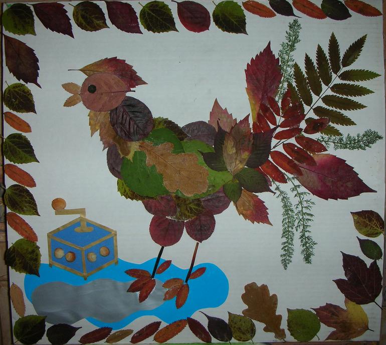 Картинки осенних поделок в детский сад