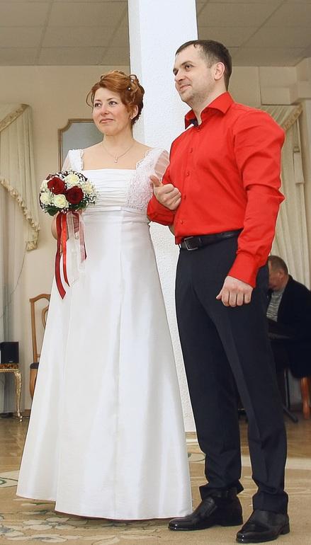 Свадебное  платье.  Италия.