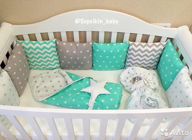Комплект для новорожденного в кроватку сшить