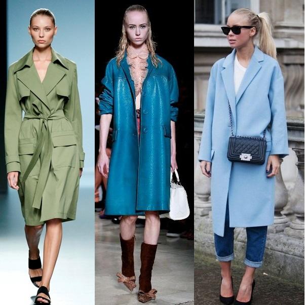 Модное женское пальто на весну 2017